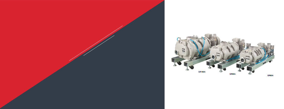Dry Vacuum Pump GR Series