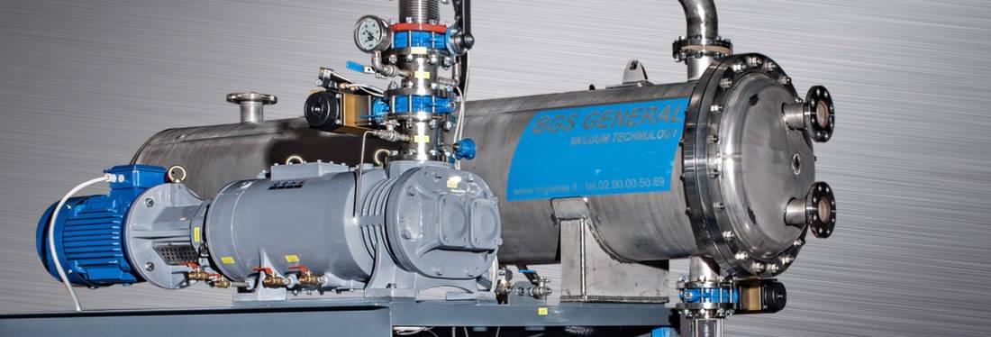 Vidalı Vakum Pompaları ( Screw Pumps ) BDRY Serisi